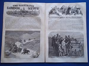 The Illustrated London News (Single Complete Issue: Vol. XXIV No. 678, April 15, 1854) With Lead ...