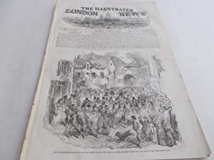 The Illustrated London News (Single Complete Issue: Vol. XXV No. 699, August 26, 1854) With Lead ...