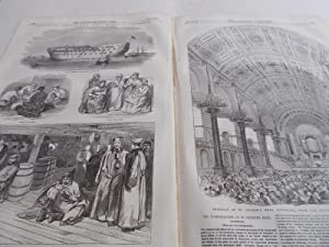 The Illustrated London News (Single Complete Issue: Vol. XXV No. 703, September 23, 1854) With Lead...