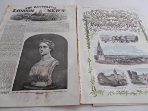 The Illustrated London News (Single Probable Complete Issue: Vol. XXXII No. 900, January 30, 1858) ...