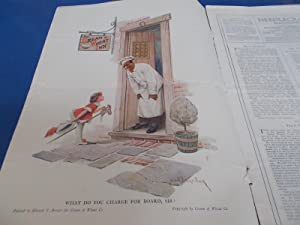 Needlecraft Magazine (December 1919) Complete Issue With Full-Page Cream of Wheat and Old Dutch ...