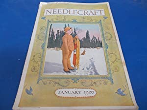 Needlecraft Magazine (January 1920) Complete Issue With Full-Page Cream of Wheat and Victor Talking...