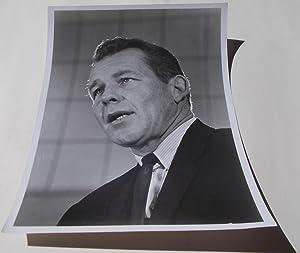 Original Print Portrait Photograph of Robert H. Finch (1966, California Gubernatorial and ...
