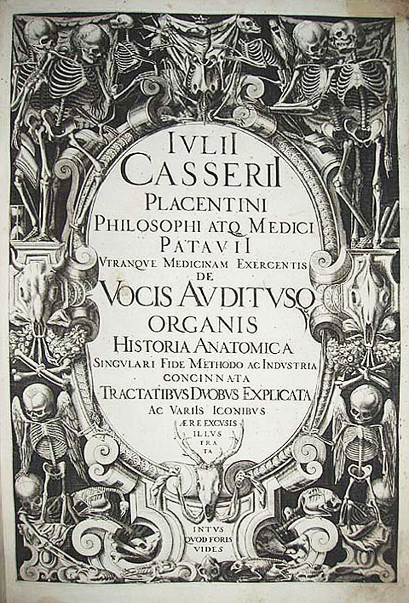 De vocis auditusq[ue] organis historia anatomica singulari. de ...