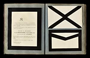 Lettres de deces: VAN DER AA, L.