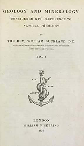 Geology and mineralogy considered.: BUCKLAND, William