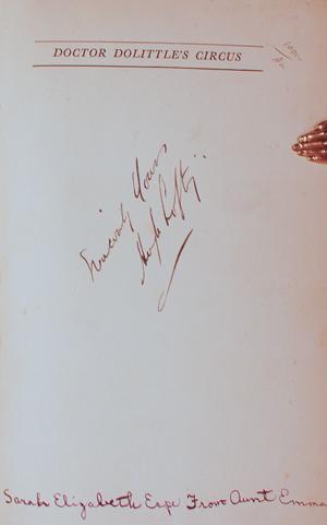Doctor Dolittle's Circus: LOFTING, Hugh