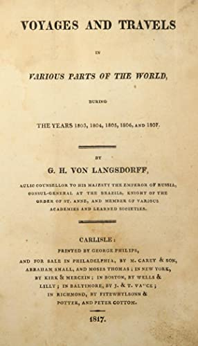 Voyages and travels in various parts of the world, during the years 1803, 1804, 1805, 1806, and ...