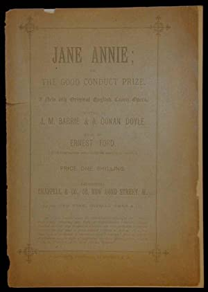 Jane Annie; or, the good conduct prize.: BARRIE, J.M. &