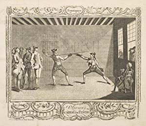 Fencing familiarized: a new treatise on the art of sword play: OLIVIER, J.