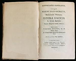 Hippocrates contractus, in quo magni Hippocratis, medicorum principis, opera omnia in brevem ...