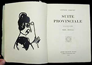 Suite Provinciale: CHAGALL, Marc. COQUIOT, Gustave