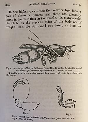"""Sexual selection in relation to monkeys."""" In Nature, Volume VX, November 1876 to April 1877, pp..."""