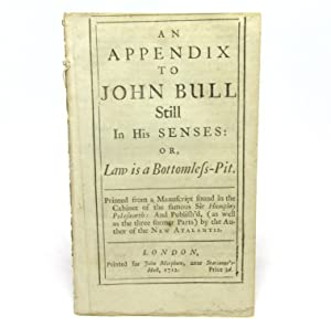 An Appendix to John Bull Still in: John Arbuthnot]