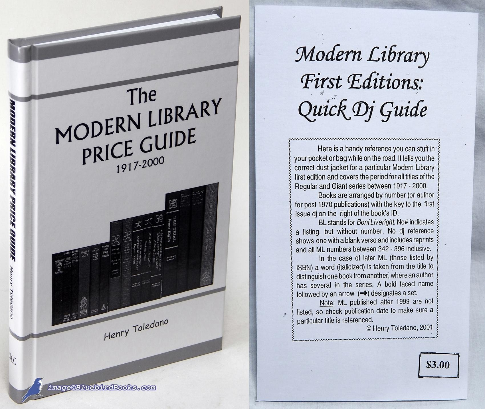 Henry toledano modern library price guide signed abebooks.