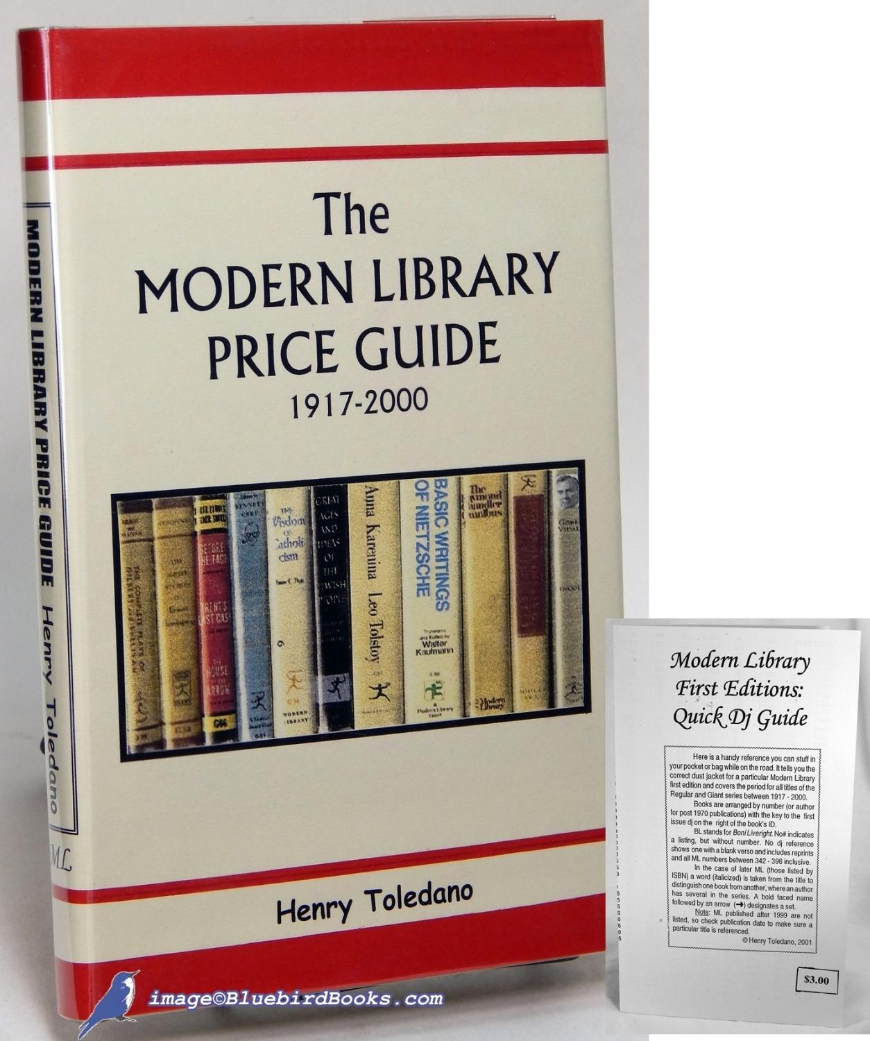 The modern library price guide 1917-2000 + modern library first.