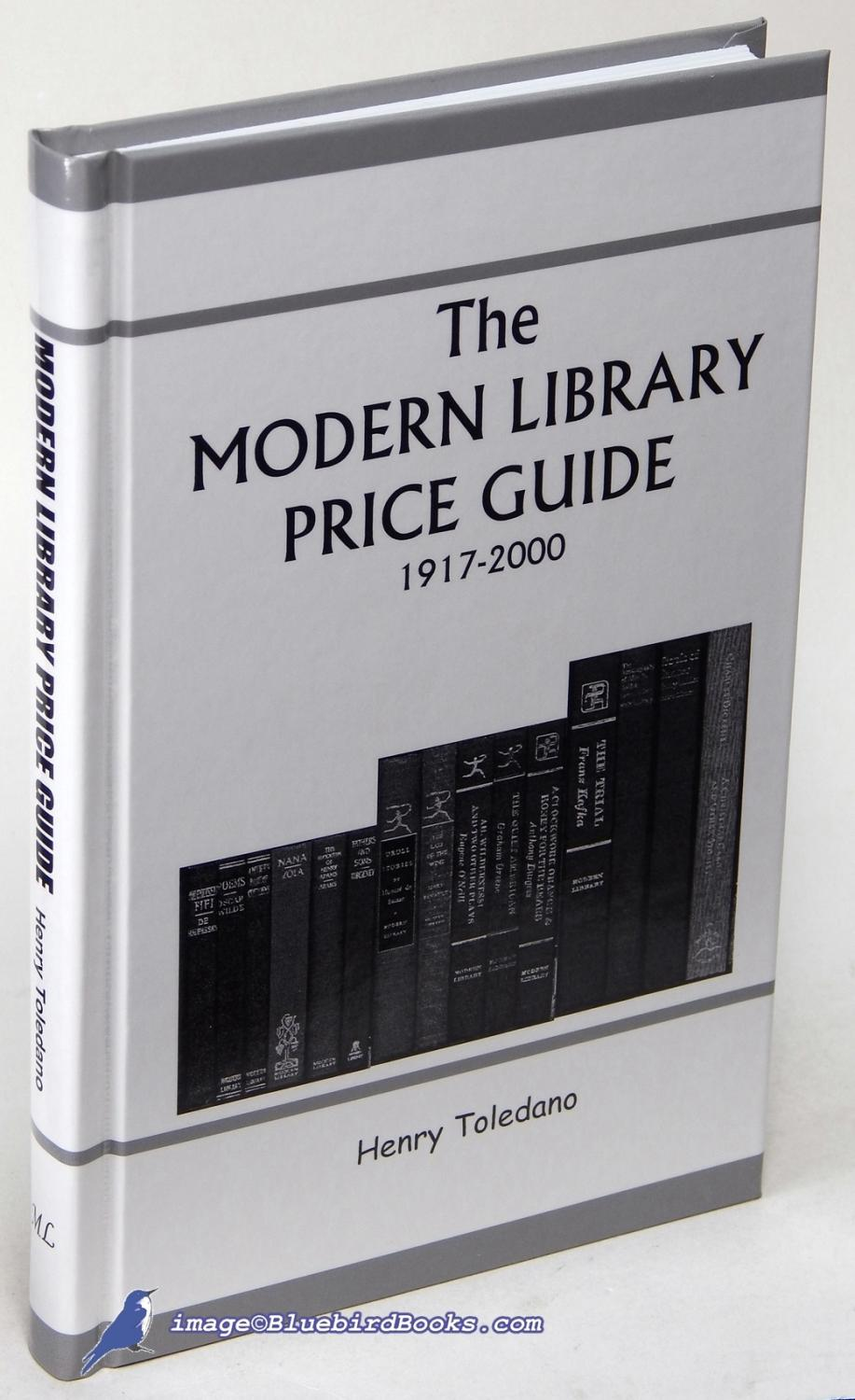 Modern library price guide 1917-2000 (in hardcover, includes ml.