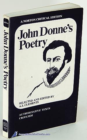the bait john donne analysis