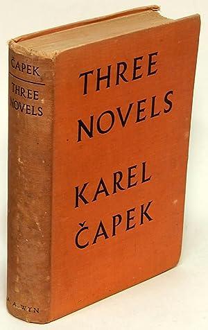 Three Novels: Hordubal, An Ordinary Life, Meteor: CAPEK, Karel