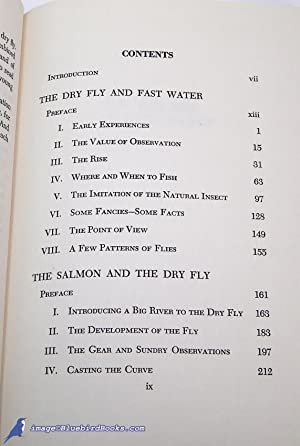 The Dry Fly and Fast Water -and- The Salmon and the Dry Fly: LA BRANCHE, George M. L.