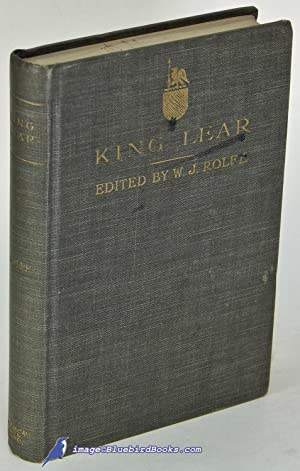 Shakespeare's Tragedy of King Lear: SHAKESPEARE, William