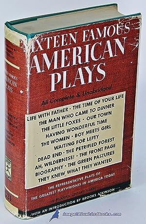Sixteen Famous American Plays (Modern Library Giant #G21.2): CERF, Bennett; CARTMELL, Van H. (...