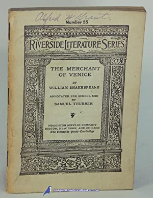 The Merchant of Venice (The Riverside Literature: SHAKESPEARE, William; THURBER,