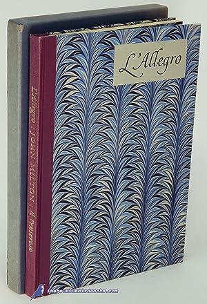 L'Allegro -and- Il Penseroso: MILTON, John (author); BLAKE, William (illustrations)