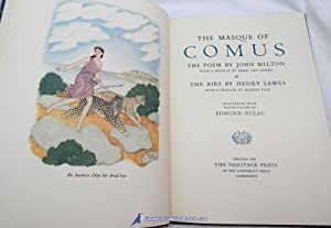 The Masque of Comus the Poem by John Milton -and- The Airs by Henry Lawes: MILTON, John; LAWES, ...