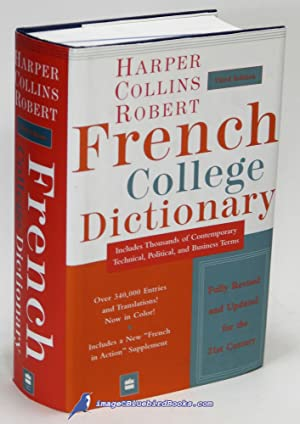 Harper Collins Robert French College Dictionary: Fourth Edition (French-English / English-French ...