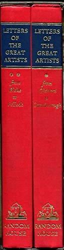 Letters of the Great Artists, Volume 1: Friedenthal, Richard, ed.