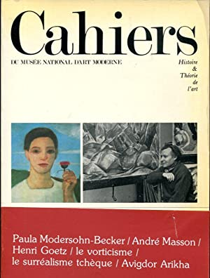 Cahiers Du Musee National D'art Moderne: Histoire