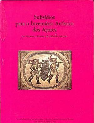 Subsidios Para O Inventario Artistico dos Acores: Oliveira Martins, Francisco