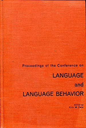 Proceedings of the Conference on Language and Language Behavior