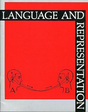 Language and Representation: Brian Boigon, Andy Patton,: Monk, Philip