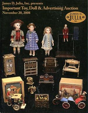 James D. Julia, Inc. Presents: Important Toy,: James D. Julia,