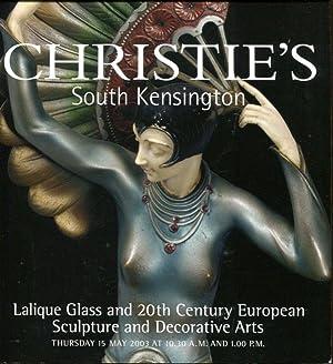 Lalique Glass and 20th Century European Sculpture: Christie's South Kensington