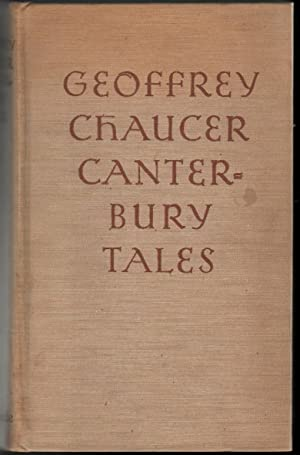 Chaucer Canterbury Tales Hardcover First Edition Seller