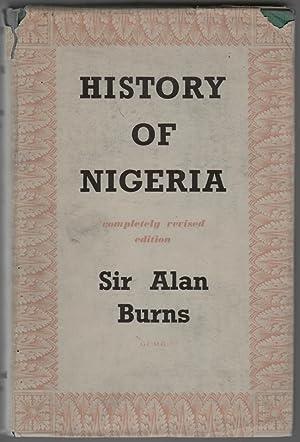 History of Nigeria: Burns, Sir Alan,