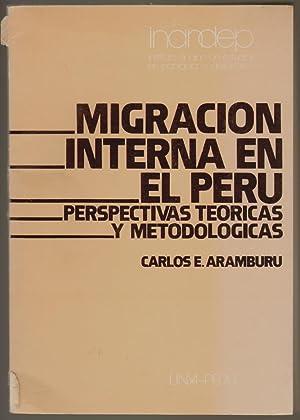 Migraciones Internas, Perspectivas Teoricas Y Metodologicas [Cover: Aramburu, Carlos E.