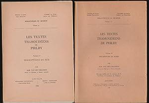 Les Textes Thamoudéens de Philby, Volume I,: Branden, Alb. Van
