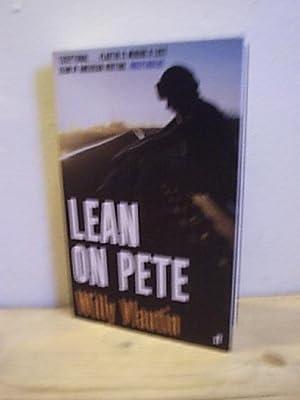 Lean on Pete: Vlautin, Willy