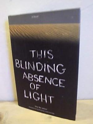 This Blinding Absence of Light: Tahar Ben Jelloun