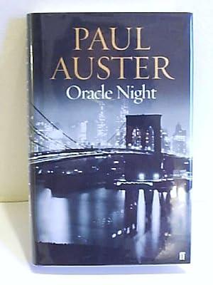 Oracle Night: Auster, Paul