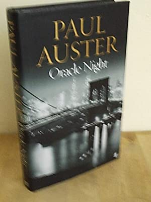 Oracle Night: Auster, Paul
