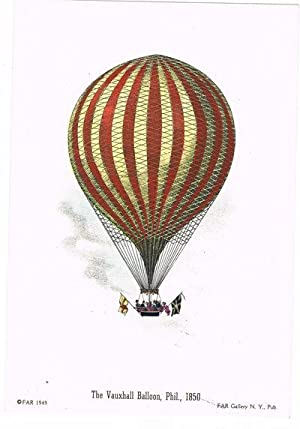 BALLOONING]: A LOT OF 4 BRIGHT HAND-COLORED: FAR Gallery)