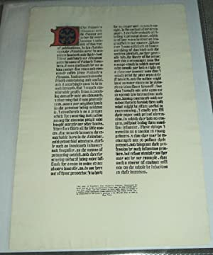 [ILLUMINATED BROADSIDE]: POOR RICHARD'S ALMANAC AND THE GAZETTE ARE TO-DAY THE MOST FAMOUS OF THI...