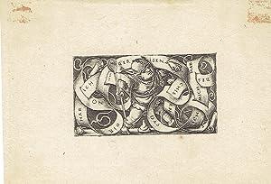 THE LITTLE BUFFOON: A SUPERB 19TH CENTURY: Beham, Hans Sebald