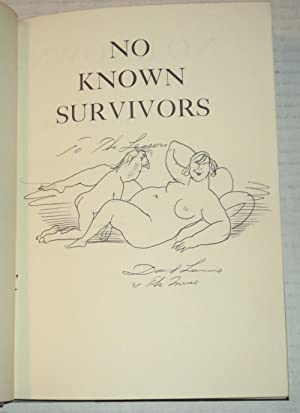 NO KNOWN SURVIVORS: David Levine's Political Plank.: Levine, David.