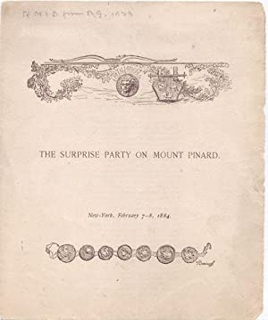 THE SURPRISE PARTY ON MOUNT PINARD. New-York,: Buel, Clarence Clough
